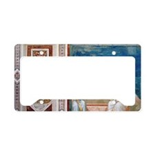 Resurrection of Christ by Gio License Plate Holder