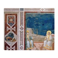 Resurrection of Christ by Giotto. Sc Throw Blanket