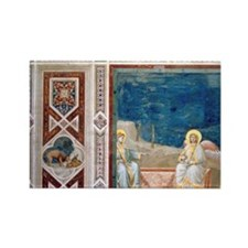 Resurrection of Christ by Giotto. Rectangle Magnet