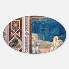 Resurrection of Christ by Giotto. S Decal
