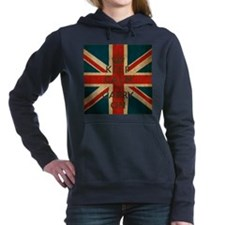 Cute Union jack Women's Hooded Sweatshirt