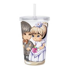 Cute Kids Acrylic Double-wall Tumbler