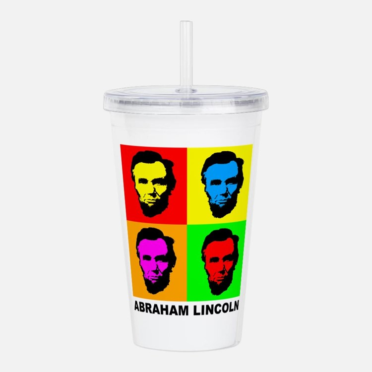 Abraham Lincoln Acrylic Double-wall Tumbler