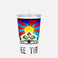 Free Tibet Acrylic Double-wall Tumbler