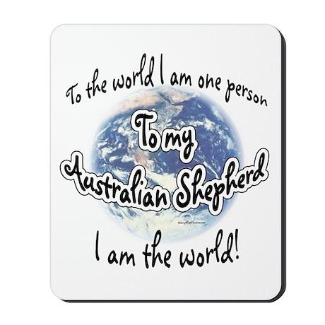 Aussie World2 Mousepad