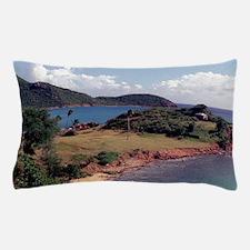 Caribbean, Antigua. Pillow Case