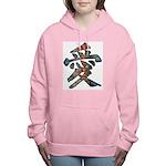 Graffiti Love Women's Hooded Sweatshirt