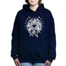Flower Heart Women's Hooded Sweatshirt