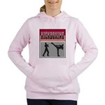Kick boxing Women's Hooded Sweatshirt