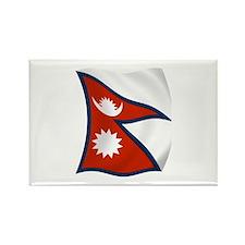Nepal Flag Rectangle Magnet (100 pack)