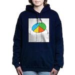 Peace Cartoon Women's Hooded Sweatshirt