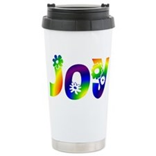 Cool Peace love birthday Travel Mug