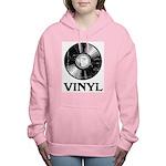Vinyl Women's Hooded Sweatshirt