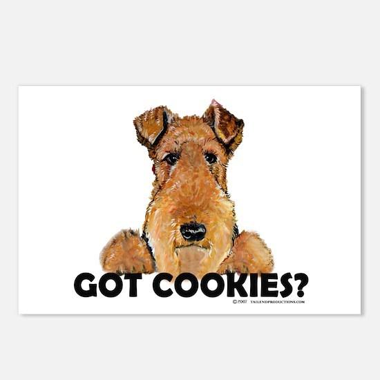 Lakeland Terrier Cookies Postcards (Package of 8)