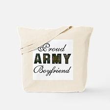 Proud Army Boyfriend Tote Bag