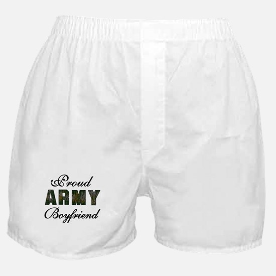 Proud Army Boyfriend Boxer Shorts