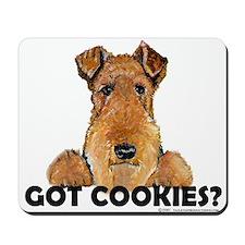 Lakeland Terrier Cookies Mousepad