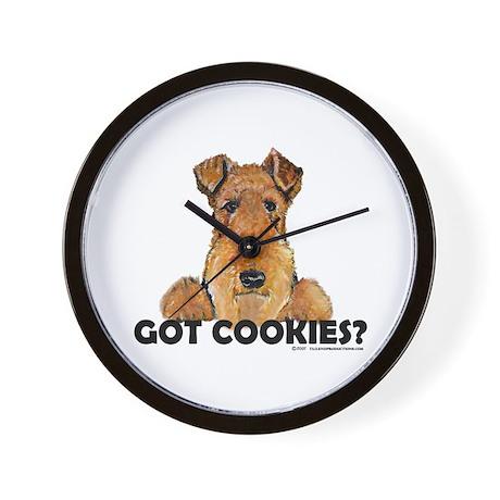 Lakeland Terrier Cookies Wall Clock