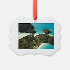 Boundary Bay (bottom) with Holida Ornament