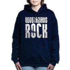 Vegetarians Rock Women's Hooded Sweatshirt