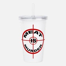 Meat Is Murder Acrylic Double-wall Tumbler