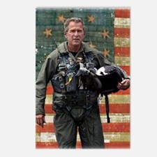 George W. Bush Patriotic Postcards (Package of 8)