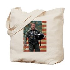 George W. Bush Patriotic Tote Bag