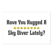 Hugged Sky Diver Postcards (Package of 8)
