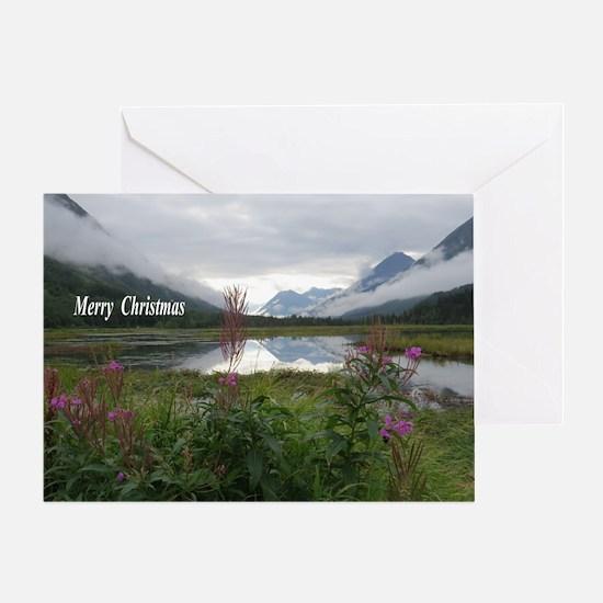 Portage Valley, Kenai Peninsula Greeting Card