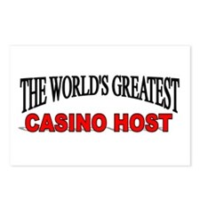 """""""The World's Greatest Casino Host"""" Postcards (Pack"""