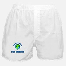 World's Best STEP-DAUGHTER Boxer Shorts