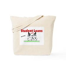 Student Loans Suck Tote Bag