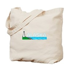 Alaska Lighthouse Tote Bag