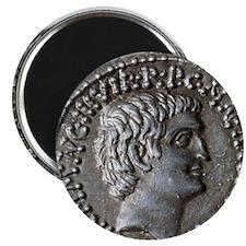 Roman coin. Mark Antony. Magnet