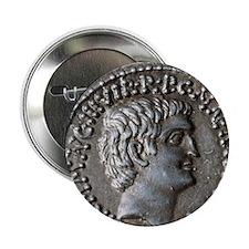 """Roman coin. Mark Antony. 2.25"""" Button"""