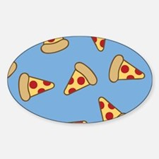 Cute Pizza Pattern Decal