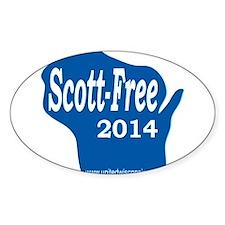 Scott-Free Wisconsin Decal