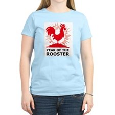 Year Of The Rooster Women's Pink T-Shirt
