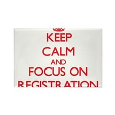 Keep Calm and focus on Registration Magnets