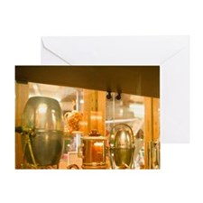 Coffee Museum & RoastersTerre, Vieux Greeting Card