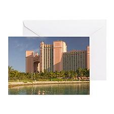 Nassau: Atlantis Resort & Casino / P Greeting Card