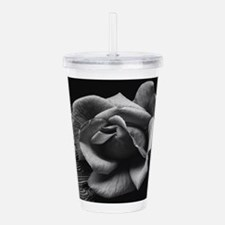 Funny Flower and art Acrylic Double-wall Tumbler