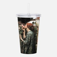 Funny Retro floral Acrylic Double-wall Tumbler