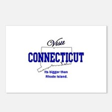 Visit Connecticut . . . Its B Postcards (Package o