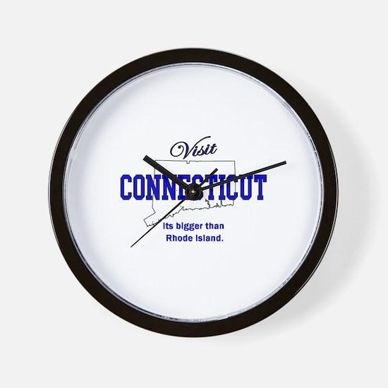 Visit Connecticut . . . Its B Wall Clock