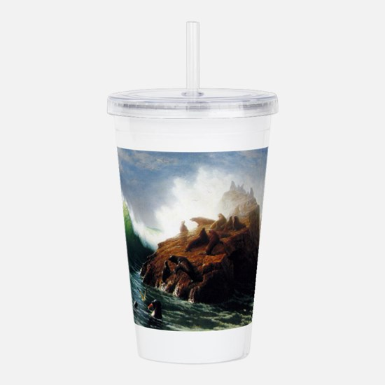 Bierstadt Seal Rock Acrylic Double-wall Tumbler