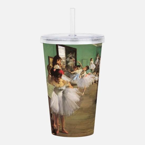 Edgar Degas Dancing Class Acrylic Double-wall Tumb