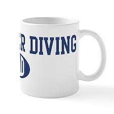 Dumpster Diving dad Mug