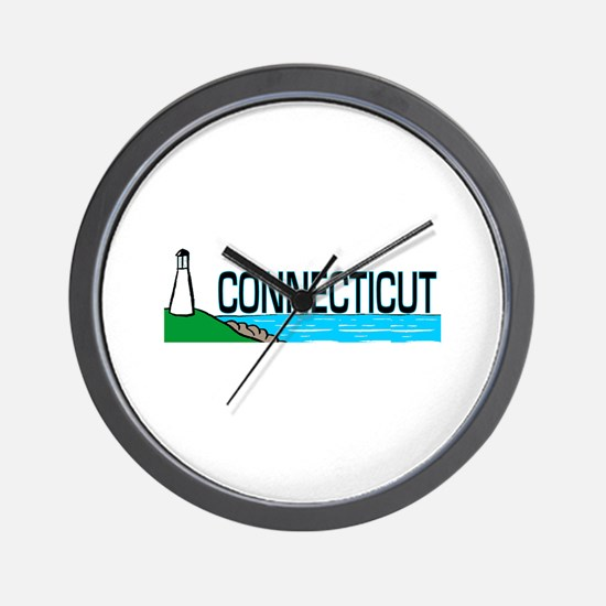 Connecticut Ligthouse Wall Clock