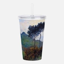 Funny Claude monet Acrylic Double-wall Tumbler